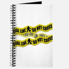 Field Hockey Crime Tape Journal