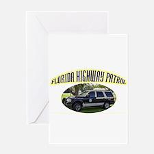 Florida Highway Patrol K9 Greeting Card