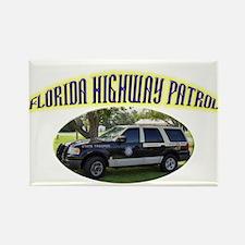 Florida Highway Patrol K9 Rectangle Magnet