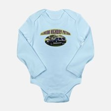 Florida Highway Patrol K9 Long Sleeve Infant Bodys