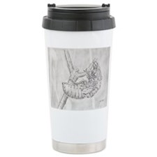 graphite cicada exoskeleton Travel Mug