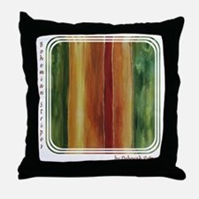 Bohemian Stripes Throw Pillow