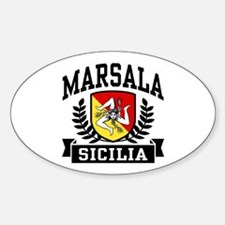 Marsala Sicilia Decal