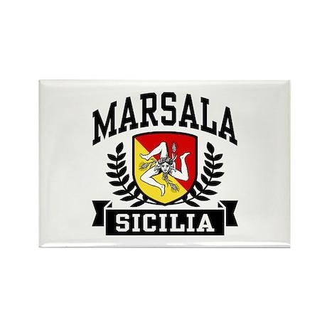 Marsala Sicilia Rectangle Magnet