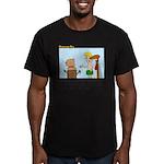 Apple Temptation Men's Fitted T-Shirt (dark)