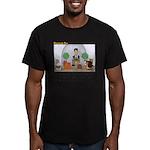 Facebook Church Men's Fitted T-Shirt (dark)