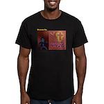 Evandalism Men's Fitted T-Shirt (dark)