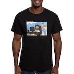 Prayer Request Men's Fitted T-Shirt (dark)