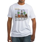 Facebook Church Fitted T-Shirt