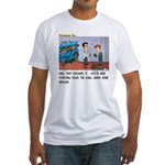 King James Bond Fitted T-Shirt