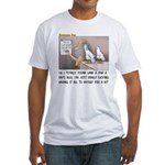 Secret on the Ark Fitted T-Shirt