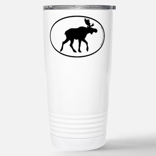 Moose SILHOUETTE Stainless Steel Travel Mug