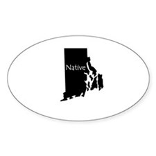 Rhode Island Native Decal