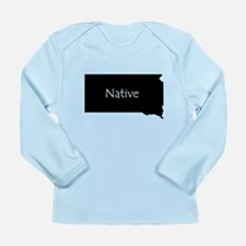 South Dakota Native Long Sleeve Infant T-Shirt