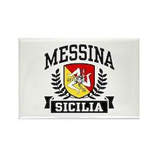 Messina Sicilia Rectangle Magnet