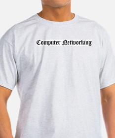 Computer Networking Ash Grey T-Shirt