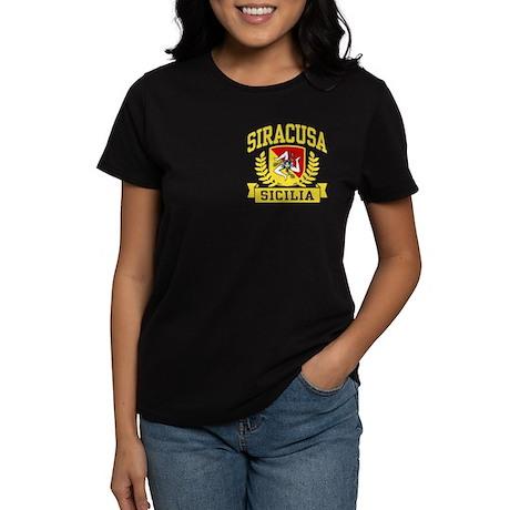 Siracusa Sicilia Women's Dark T-Shirt