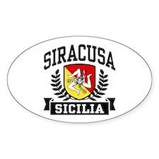 Siracusa Sicilia Bumper Stickers