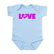 LOVE MOOSE Infant Bodysuit