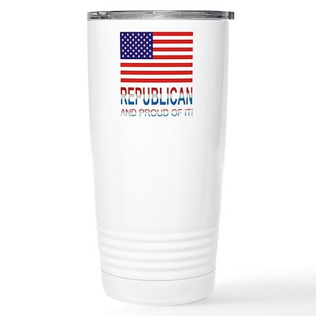 Republican Stainless Steel Travel Mug