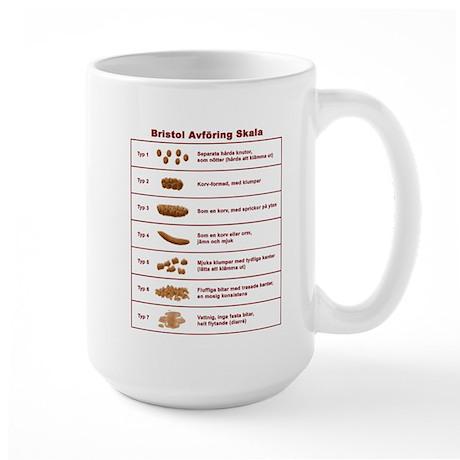 Bristol Avföring Skala Large Mug