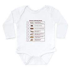 Bristol Avföring Skala Long Sleeve Infant Bodysuit