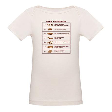 Bristol Avföring Skala Organic Baby T-Shirt