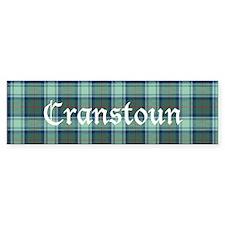 Tartan - Cranstoun Bumper Sticker