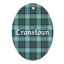 Tartan - Cranstoun Ornament (Oval)