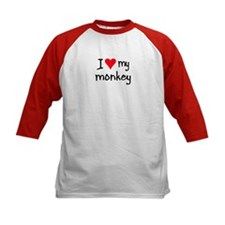 I LOVE MY Monkey Tee