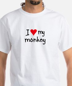 I LOVE MY Monkey Shirt
