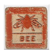 Cute Honey Tile Coaster