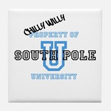 Chilly Willy Tile Coaster