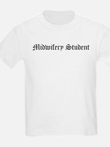 Midwifery Student Kids T-Shirt