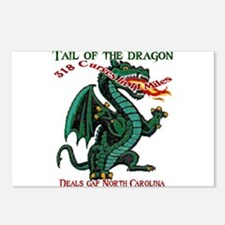 Tail Of The Dragon Postcards (Package of 8)