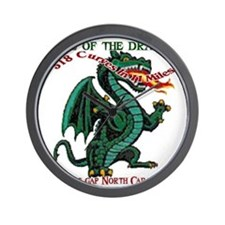 Tail Of The Dragon Wall Clock