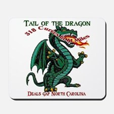 Tail Of The Dragon Mousepad