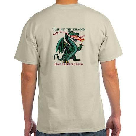 Tail Of The Dragon Light T-Shirt