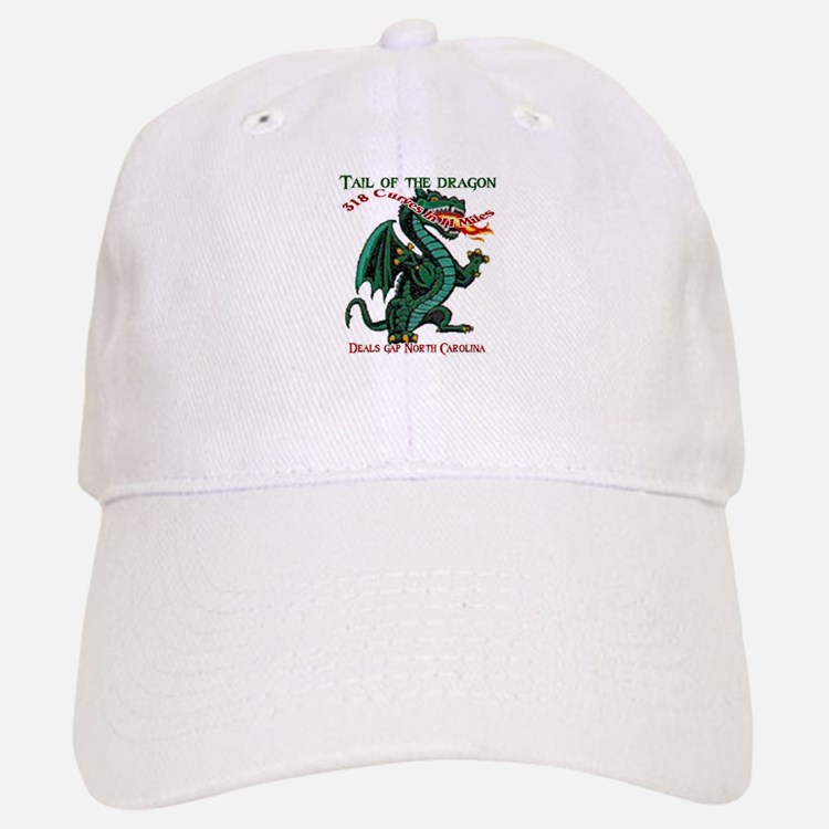 Tail Of The Dragon Baseball Baseball Cap