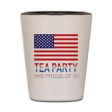 Tea Party Shot Glass