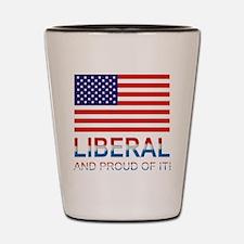 Liberal Shot Glass