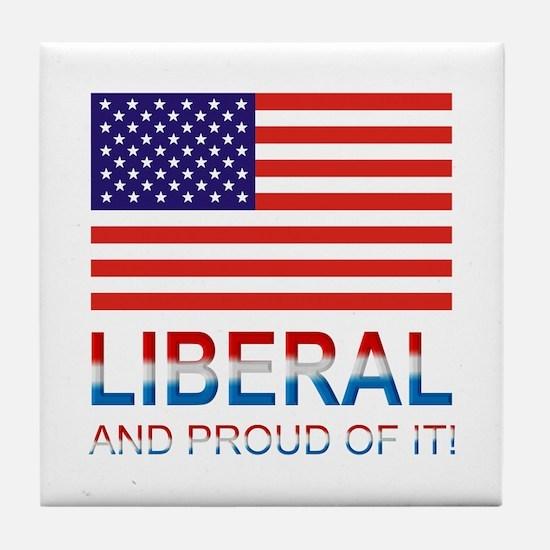 Liberal Tile Coaster