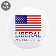 """Liberal 3.5"""" Button (10 pack)"""