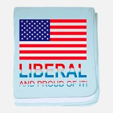 Liberal baby blanket