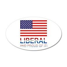 Liberal 22x14 Oval Wall Peel