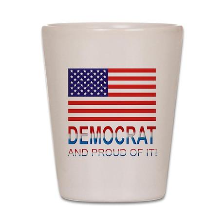 Democrat Shot Glass