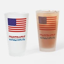 Conservative Drinking Glass
