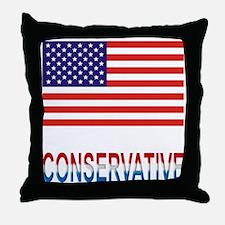 Conservative Throw Pillow