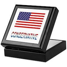 Conservative Keepsake Box