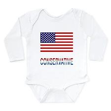Conservative Long Sleeve Infant Bodysuit